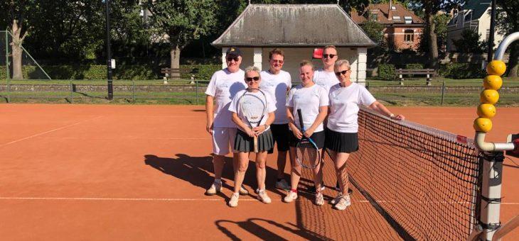 Winnaars bedrijven tennistornooi KTC Beringen 2019