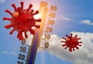 Het weer en Covid-19: een verzwakkende schakel